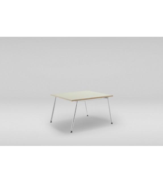 konferenční stolek fin - malý, chrom