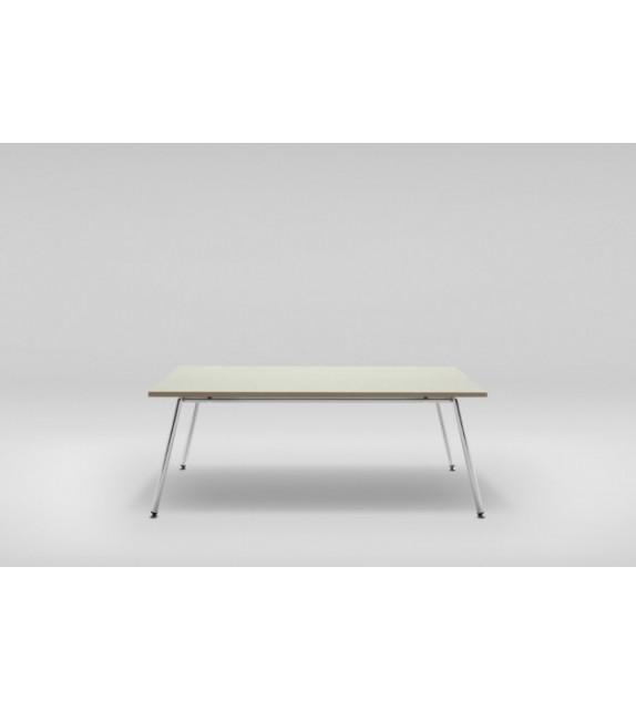 konferenční stolek fin - velký, chrom