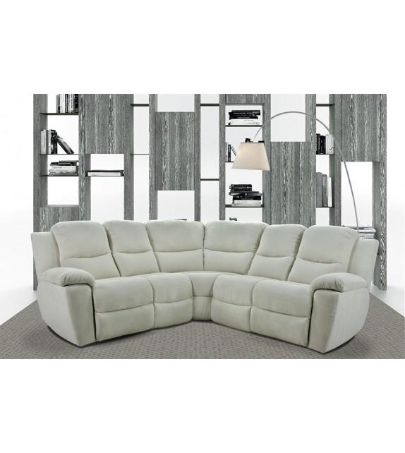 Komfortní stylová sedačka NOVARA