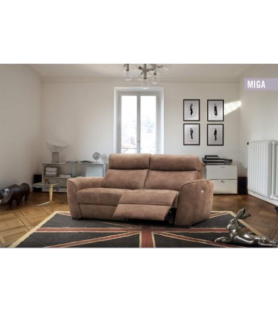 Luxusní polohovací sedačka MIGA