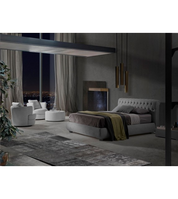 Luxusní italská postel VERO