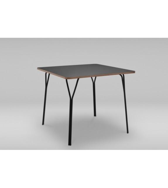 Moderní čtvercový stůl SHARK