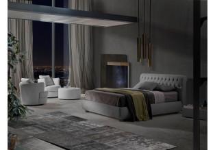 Luxusní postele čalouněné